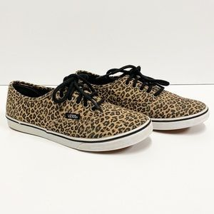 Vans Authentic Leopard Canvas Sneakers